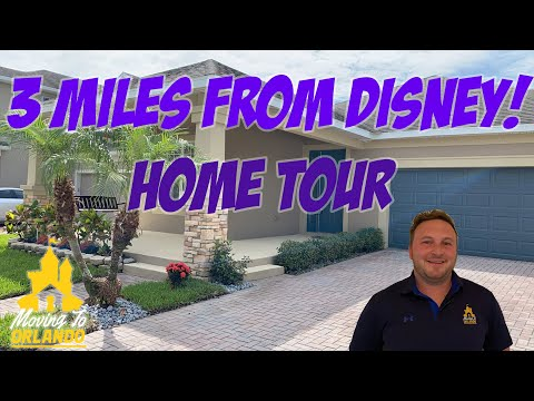 (New) Windermere home 3 miles from disney! | orlando home tour | moving to orlando
