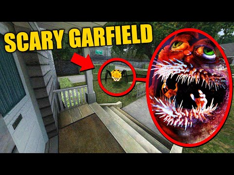 (New) When you see scary garfield enter your house, run away fast!! (scp-1366 gorefield)