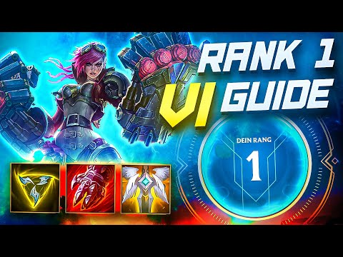 (VFHD Online) Rank #1 vi guide - this jungler is so good! | wild rift (lol mobile)