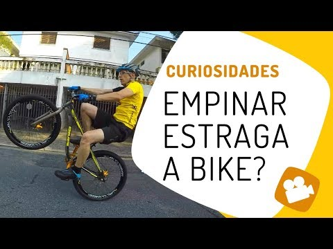 (HD) Empinar estraga a bike? pedaleria