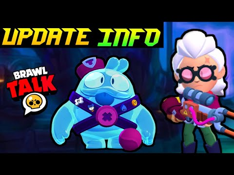 (New) Two new brawler *belle* and *squeak* l update info l 18+ more skins