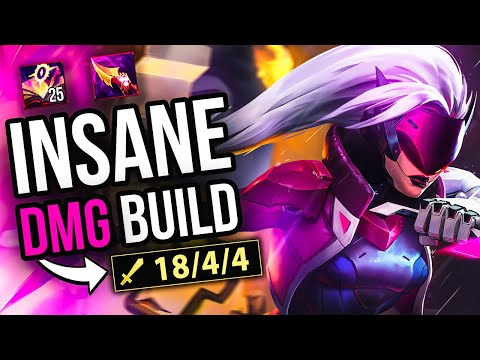 (New) Katevolved | hard carrying with this insane damage build 😱👌