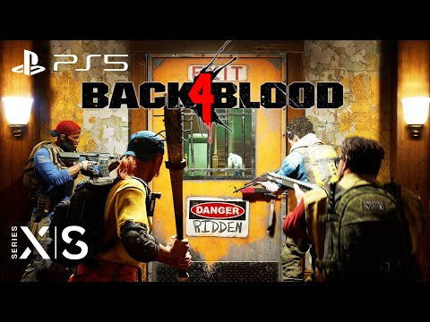 (New) Back 4 blood (left 4 dead 3) gameplay walkthrough ps5 xbox series x pc [1440p hd 60fps]