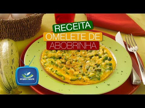 (New) Omelete abobrinha | simples e natural - endocard