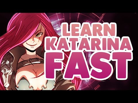 (New) Learn katarina fast - zed matchup 1 | full game informative commentary | katlife