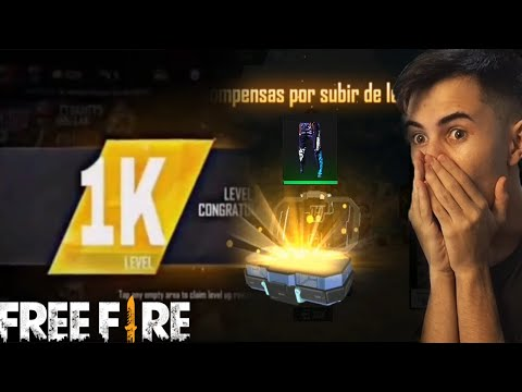 (New) Primeiro player que pegou level 1000 no free fire??! (prêmios)