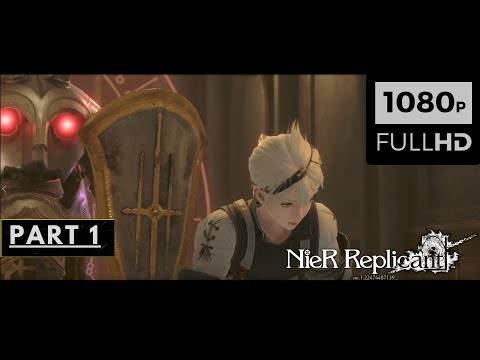 (New) Nier replicant gameplay walkthrough part 1 [hd 60fps] - no commentary (full game)