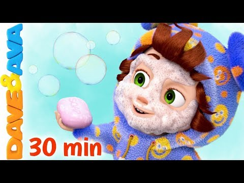 (VFHD Online) 😁 wash your hands, brush your teeth + more nursery rhymes and kids songs   dave and ava 😁