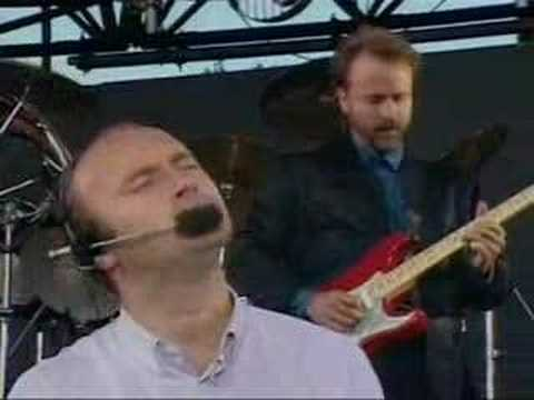 (New) Phil collins - in the air tonight (live)
