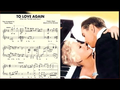(New) To love again (finale) from the eddy duchin story (carmen cavallaro)