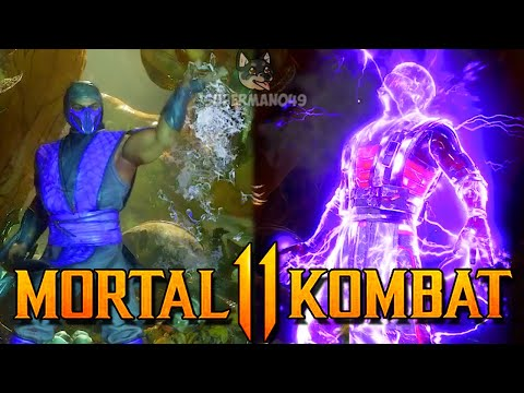 (New) The best brutality rain has! - mortal kombat 11: rain gameplay