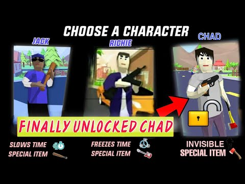 (New) How to unlock third character {chad} - dude theft wars