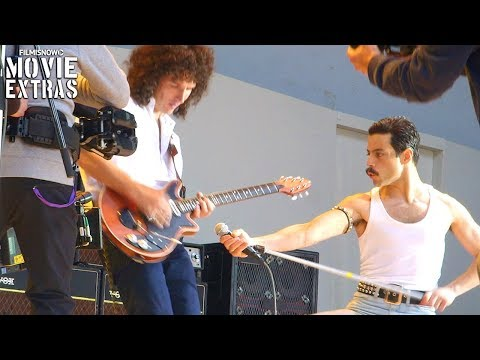 (New) Bohemian rhapsody (2018) | behind the scenes of queen biopic movie
