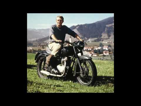 (New) The great escape - motorcycle theme (steve mcqueen)