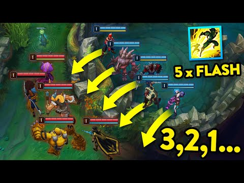 (VFHD Online) Craziest level 1 moments in league of legends #2
