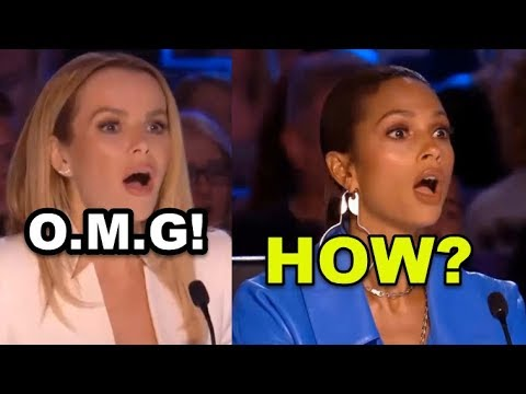 (New) Top 7 *unexpected ever acts* britains got talent auditions!