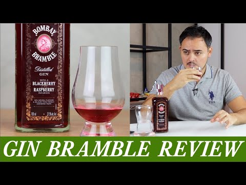 (HD) Gin bramble review