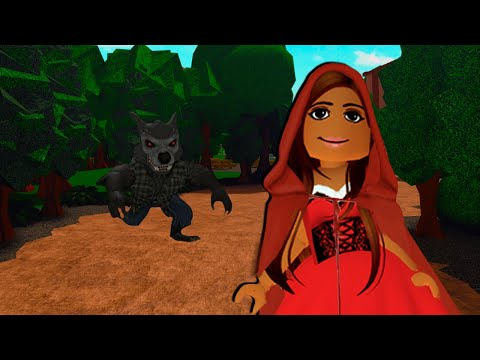 (New) The sad story of red riding hood... roblox