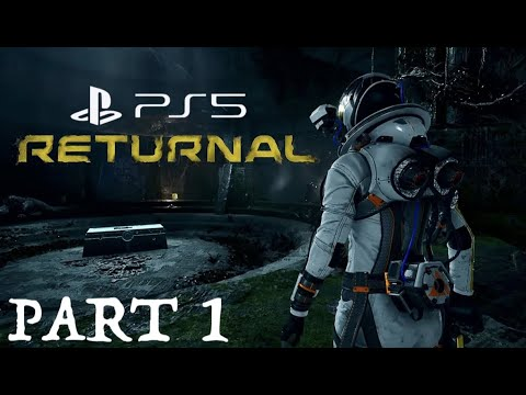 (New) Returnal ps5 walkthrough gameplay part 1 - intro