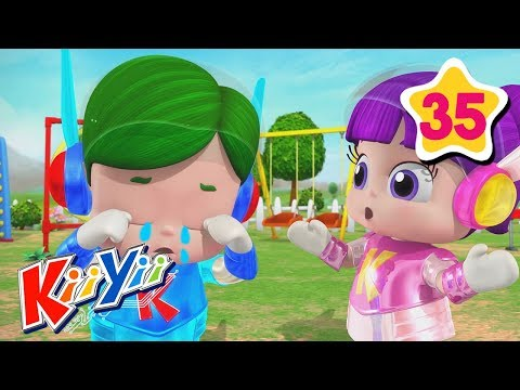 (New) Being kind to each other song | abcs and 123s | by kiiyii | nursery rhymes e kids songs