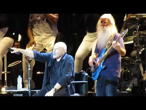 (New) Phil collins - follow you, follow me 2018 maracanã hd the legendary live rio de janeiro brasil