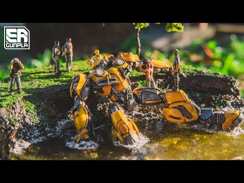 (VFHD Online) Transformers bumblebee diorama
