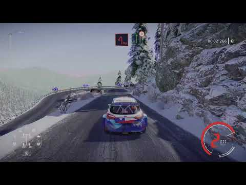 (New) Wrc 9 ps5 4k (fake)hdr 60fps gameplay
