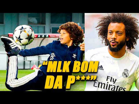 (New) Marcelo junior joga muito, promessa do real madrid