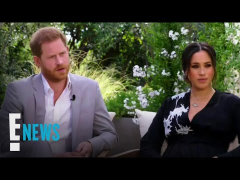 (New) Meghan markle e prince harrys oprah interview: shocking moments | e! news