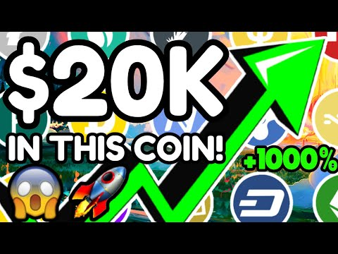 (New) I just bought $20,000 of this coin! - this altcoin will explode - best altcoins to buy now