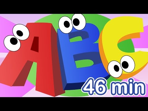 (Ver Filmes) Abc song + more nursery rhymes! the alphabet song compilation