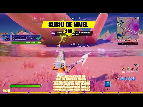 (HD) Como upar level 200 mais rapido na nova temporada 5 capitulo 2 fortnite