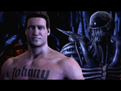 (New) Johnny cages hilarious new intros in mortal kombat xl