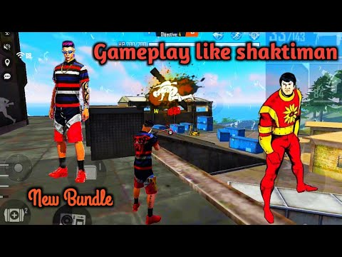 (New) Free fire montage video || free fire gameplay with new bundle || mc funk bundle ||