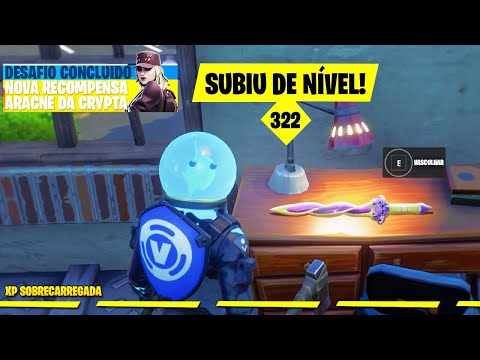 (New) Novo desafio secreto para ganhar 60000 xp no fortnite