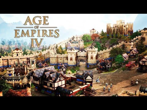 (New) Age of empires 4 - gameplay reveal (x019) official rts game 2020