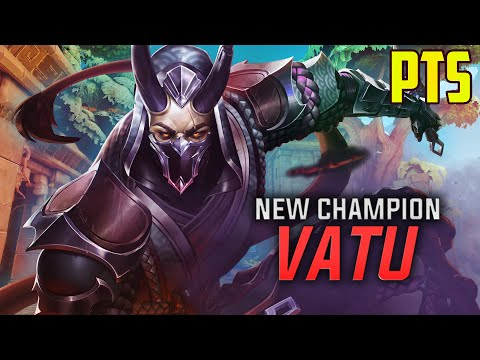 (New) Paladins 4.4 [pts]: vatu new champion!