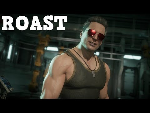 (New) Mortal kombat 11 : the roast of johnny cage intro dialogues