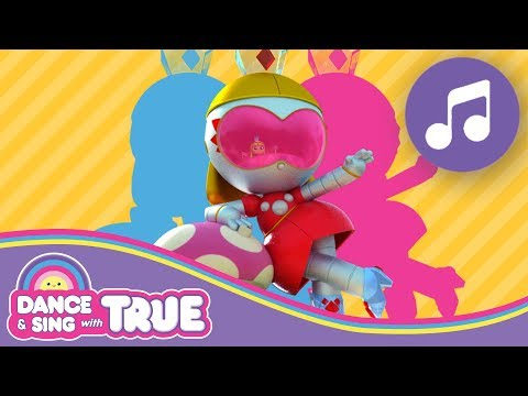 (New) Grizbot groove song | dance and sing with true | true and the rainbow kingdom