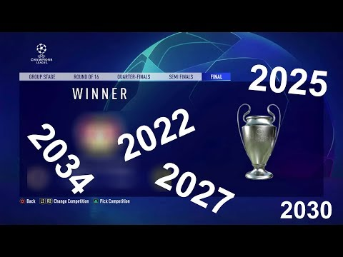 (New) Fifa 20 predicts champions league winners