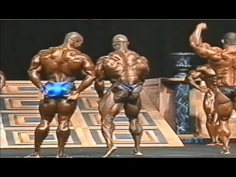 (HD) The moment flex wheeler realized he couldnt beat ronnie coleman
