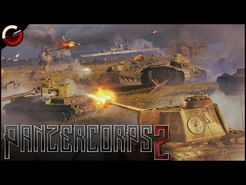 (New) Invading poland! ultimate ww2 strategy game | panzer corps 2 gameplay
