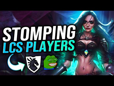 (New) Katevolved | stomping lcs players like flies