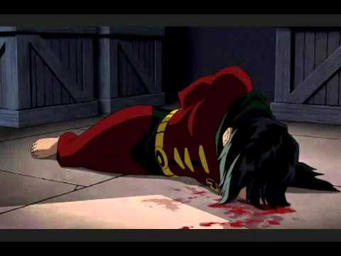 (New) Robins death from batman: under the red hood