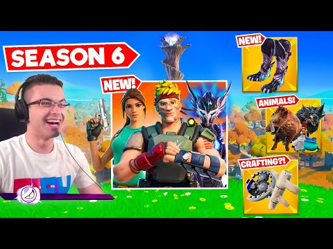 (New) Nick eh 30 reacts to season 6 gameplay changes!