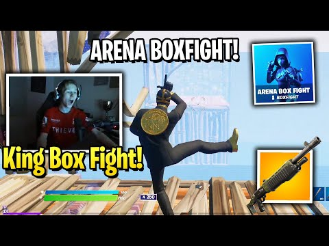 (VFHD Online) Mrsavage shows his box fighting skills and dominates new arena box fight in fortnite!