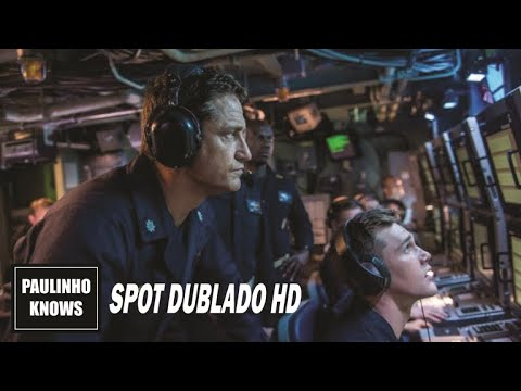 (New) Fúria em alto mar (hunter killer, 2018) | spot dublado hd