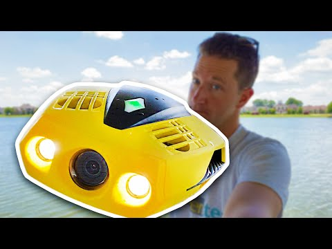 (HD) $500 underwater drone! chasing dory review