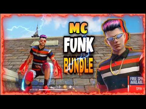 (New) Mc funk bundle || solo vs squad (1vs4) funny gameplay 🤣 greena free fire 🔥