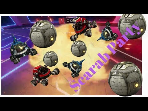 (New) Scarab rumble party - rocket league - p.c.p gaming